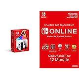 Nintendo Switch (OLED-Modell) Weiss + Switch Online Mitgliedschaft - 12 Monate (Nintendo Switch Download Code)