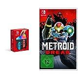 Nintendo Switch (OLED-Modell) Neon-Rot/Neon-Blau + Metroid Dread [Nintendo Switch]