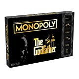 Winning Moves: Monopoly - The Godfather Board Game (WM00575-EN1)
