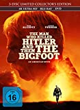 The Man Who Killed Hitler and Then The Bigfoot - 3-Disc Limited Collector's Edition im Mediabook (4K Ultra HD/UHD) (+ Blu-ray 2D) (+ DVD)