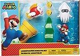 Nintendo 400162 Super Mario 6cm Figuren Multipack Diorama Spielset - Unterwasser Welt