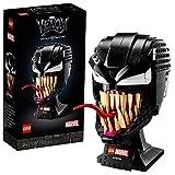 LEGO 76187 Marvel Spider-Man Venom Maske Bauset für Erwachsene, Fanartikel, Geschenkidee für Sammler