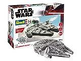 Revell Build & Play 6778 Millennium Falcon, bewegliche Teile, Light&Sound, 1:164, 20,9 cm Disney Star Wars Zubehör, Farbig