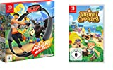 Animal Crossing: New Horizons [Nintendo Switch] + Ring Fit Adventure