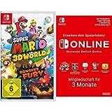 Super Mario 3D World + Bowser's Fury [Nintendo Switch] + Nintendo Switch Online Mitgliedschaft - 3 Monate | Switch Download Code