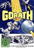 Gorath - Ufos zerstören die Erde - Mediabook - Cover B - PHANTASTISCHE FILMKLASSIKER FOLGE NR. 10 incl. BlackCardSeries Postkarte [Blu-ray]
