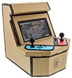 Nyko PixelQuest Arcade Kit - Constructible Arcade Kit with Customizable Pixel Art Sticker Kit and Arcade Stick Toppers for Nintendo Switch [ ]