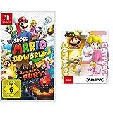 Super Mario 3D World + Bowser's Fury [Nintendo Switch] + amiibo Doppelpack Katzen-Mario und Katzen-Peach