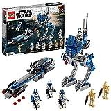 LEGO75280StarWarsCloneTroopersder501.Legion,BausetmitKampfdroidenundat-RTWalker