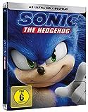 Sonic the Hedgehog - 4K UHD - Steelbook [Blu-ray]