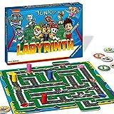Ravensburger Kinderspiel 20799 - Paw Patrol Labyrinth - das bekannte Brettspiel von Ravensburger als Junior Version für Kinder ab 4 Jahren