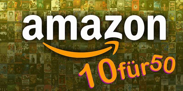 amazon 10 für 50