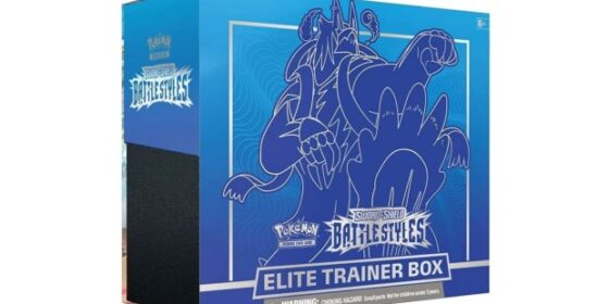 Top Deal Pokemon Karten! Pokemon Elite Trainer Box Battle Styles für nur 49,58 Euro