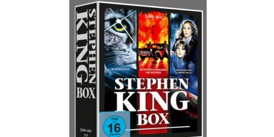 Stephen King – Horror Collection Box für 10,97 Euro